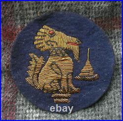 WW2 BRITISH CHINDIT OFFICER DIV CLOTH PATCH ORIGINAL rare