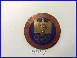 WW2 German 1936 Olympics Sports Badge- original condition! RARE! RARE! RARE