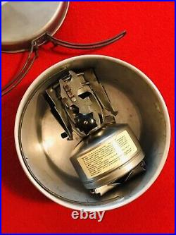 WW2 Mountain Stove ALADDIN 1945 and the RARE Mtn Cookset, Spare Parts, Wrench