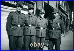 WW2 Original Norwegian Nasjonal Samling Hirden Belt Buckle Vidkun Quisling RARE