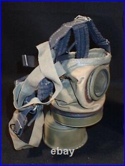WW2 Polish Army Wz. 24 Gas Mask & Cannister 1929 Mfg. Original Early & V. RARE