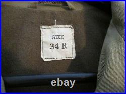 WW2 US Army M1941 rare Arctic Field Jacket near mint museum quality example GI