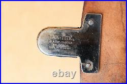 WW2 Vintage Medical Doctor Leather Bag Tuck Tite Made Germany Rare 1939-1945