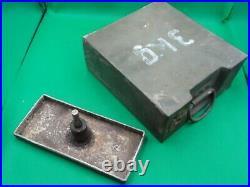 WW2 WWII GERMAN ZINC BOX FROM 3 KG SAPPER DEMOLITION CHARGE Rare