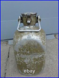 WW2 WWII German ALUMINUM WATER CONTAINER 10L Wehrmacht Luftwaffe Rare