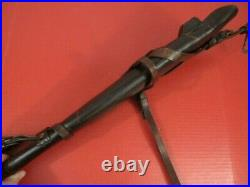 WWII Era US ARMY M1938 Leather Rifle Scabbard for M1 Carbine JQMD 1944 RARE