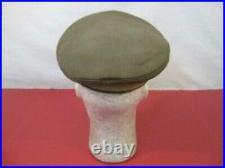 WWII Italian Officer's Military Visor Cap or Hat Unione Militare Lable RARE
