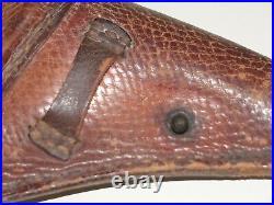 WWII Japanese Uber Rare Baby Nambu Snake Skin Holster Original
