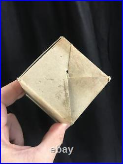 WWII US Army Field Ration Square Biscuit Type C Original RARE