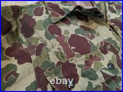 WWII WW2 Frogskin Camo Original Camouflage Coveralls Vintage Rare USMC Army P44