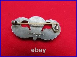 XXX-RARE WW2 US Army AIRBORNE Paratrooper Jump WINGS By Angus & Coote, Sydney, AU